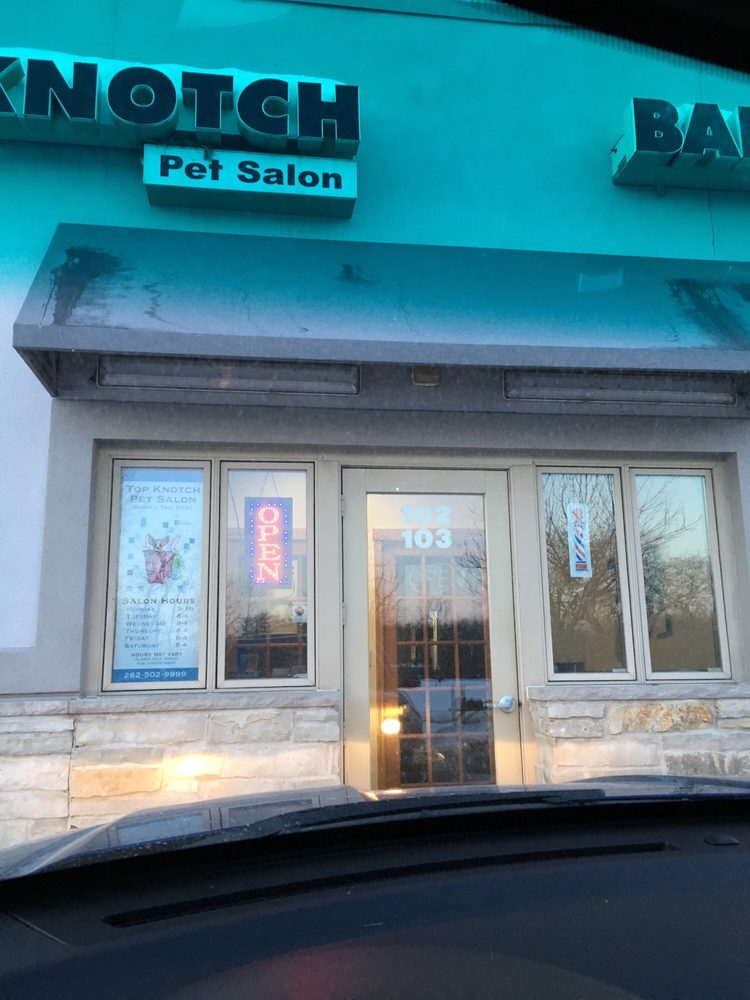 Top Knotch Pet Salon: 20316 Main St, Lannon, WI