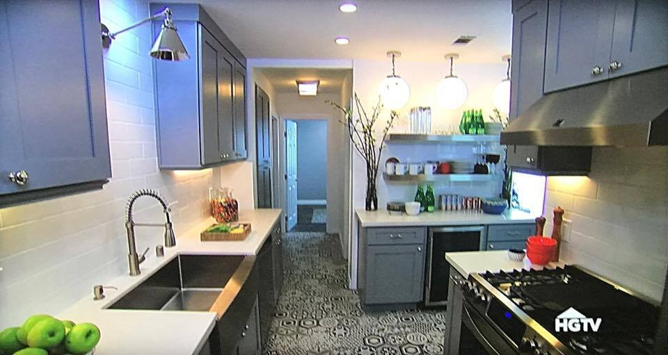 HLS Was Featured On HGTV House Hunters Renovation Season - Home remodeling los angeles ca