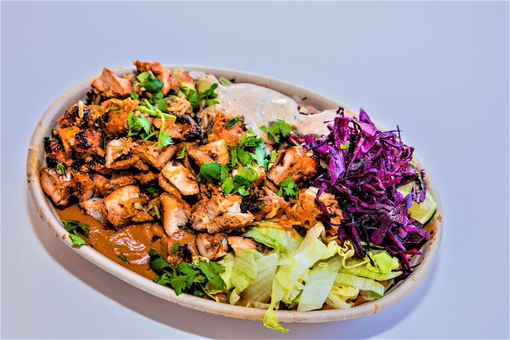 Tandoori Chicken Rice Bowl with Tikka Masala Sauce - Yelp