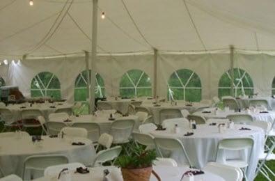 Decker's Tent Rentals: 220 Scenic Hill Rd, Charlestown, NH