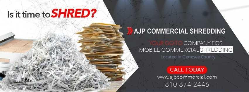 AJP Commercial Shredding: Flint, MI