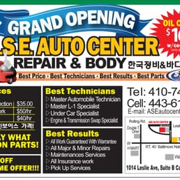 Us 40 Auto Repair And Body Body Shops 6431 Baltimore
