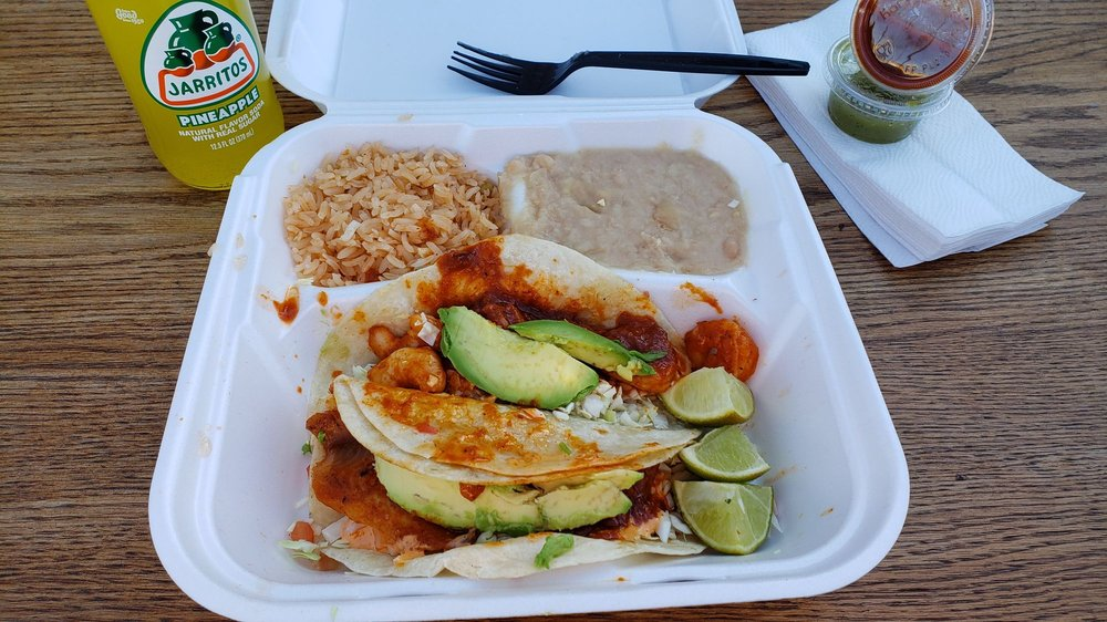 Food from Tres Amigos