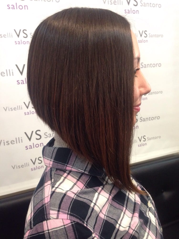 Extreme A Line Bob Haircut By Shana Paleologos Yelp