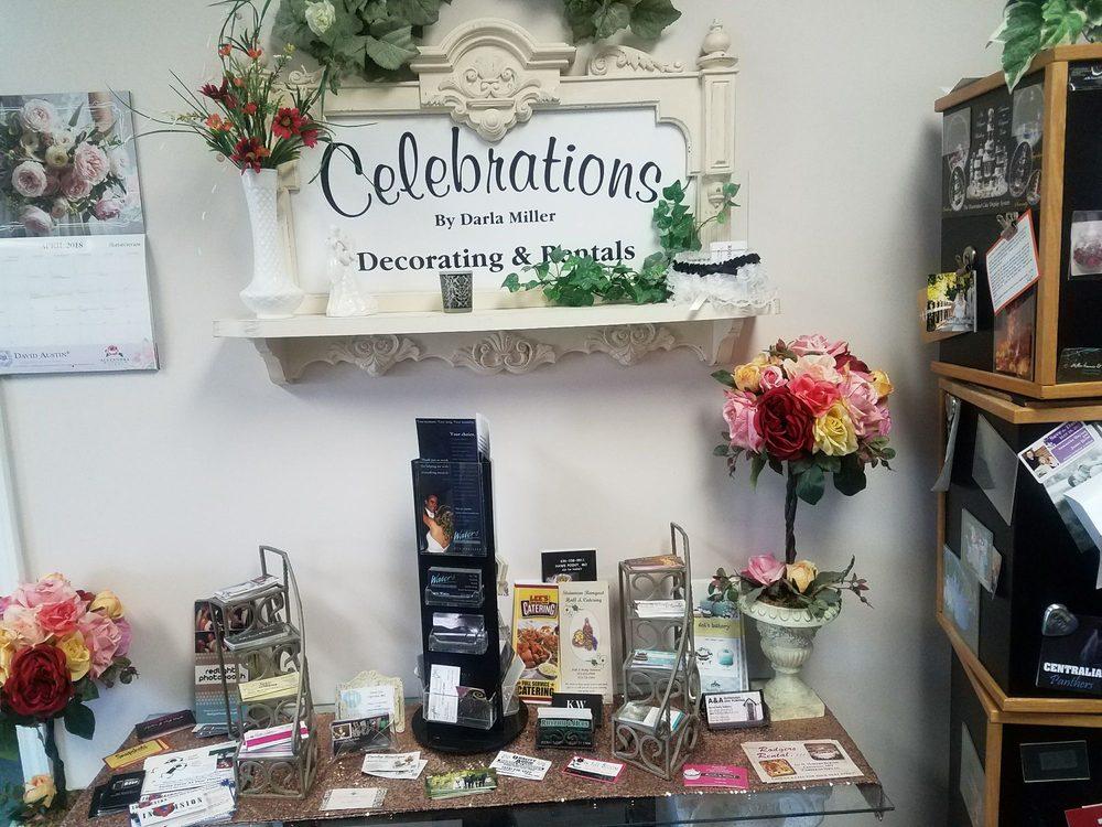 Celebrations: 1260 E Highway 22, Centralia, MO