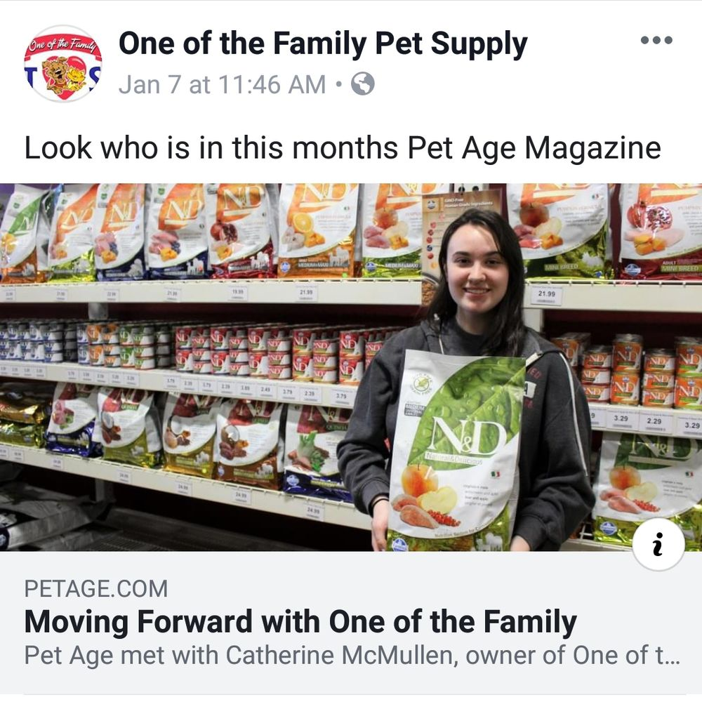 One Of The Family Pet Supply: 288 Lincoln Blvd, Middlesex, NJ
