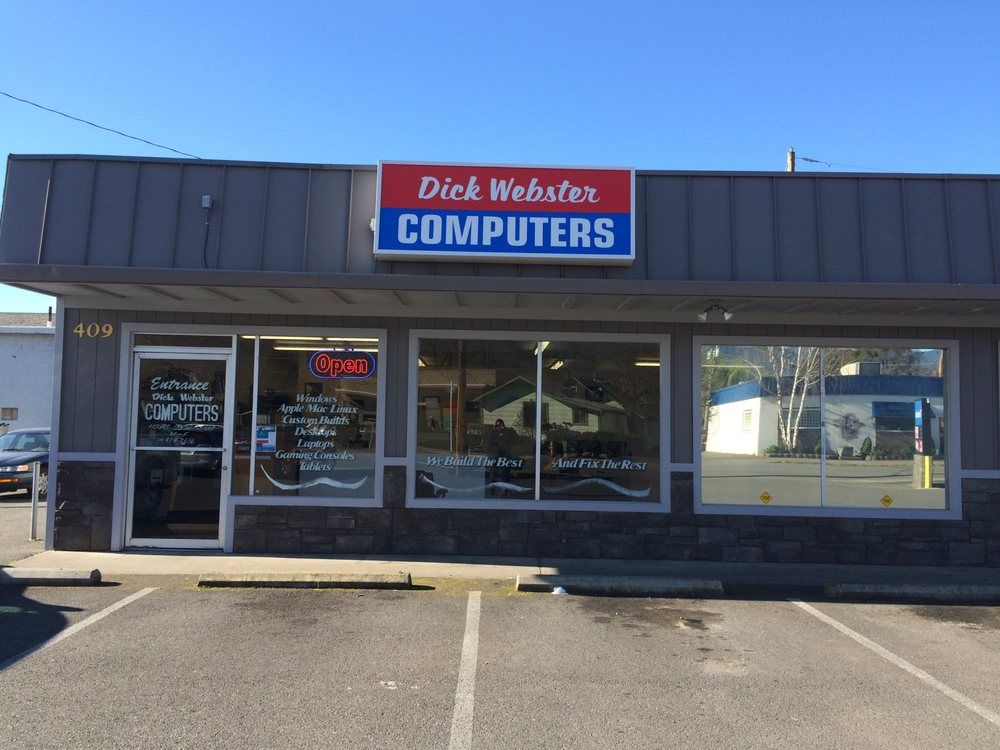 Dick Webster Computers: 409 NE E St, Grants Pass, OR