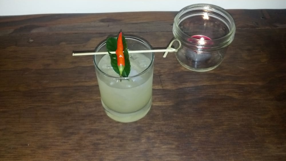 Spicy margarita yelp for Ayara thai cuisine