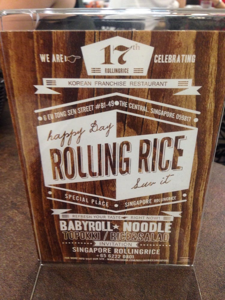 Rolling Rice Singapore