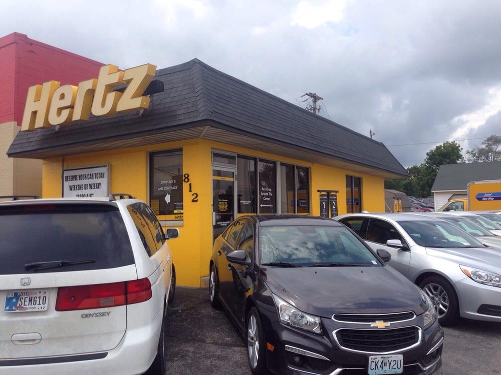 Hertz Rent A Car: 812 Sagamore Pkwy N, Lafayette, IN
