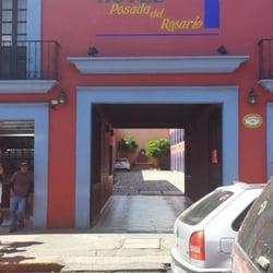Photo Of Hotel Posada Del Rosario Oaxaca Mexico Entrada Al Hitel