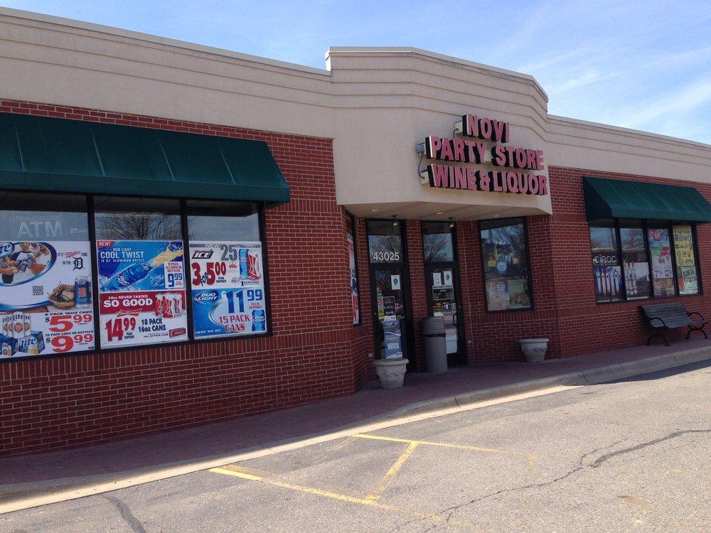 Novi Party Store: 43025 Grand River Ave, Novi, MI
