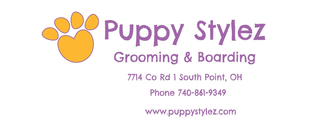 Puppy Stylez Grooming & Boarding: 7714 Co Rd 1, South Point, OH