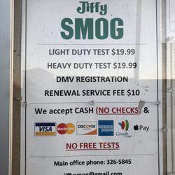 dekra emissions check coupon