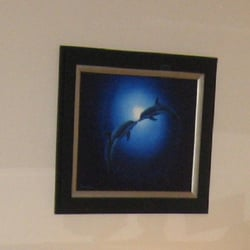 photo of wyland galleries northwest seattle wa united states kissing dolphin