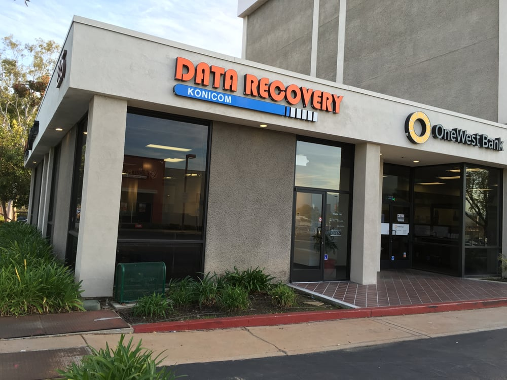 Data Recovery Konicom West Covina Store Location Store Front Sign By Meiji Sign Yelp