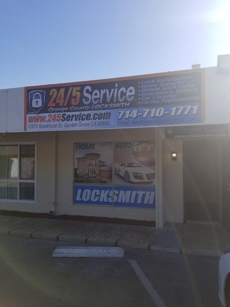 24 5 Service Keys Locksmiths 12570 Brookhurst St Garden Grove Ca Phone Number Yelp