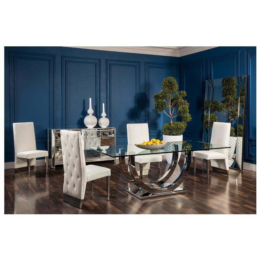 ulysis dining set el dorado furniture yelp. Black Bedroom Furniture Sets. Home Design Ideas