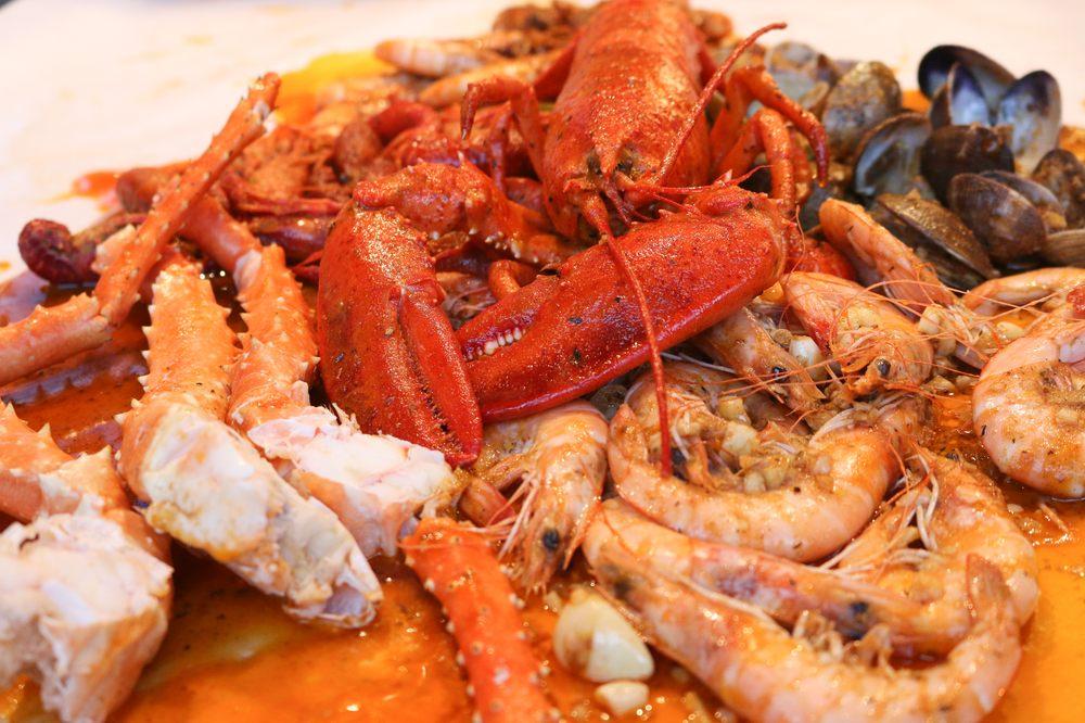 Food from Bag O Crab