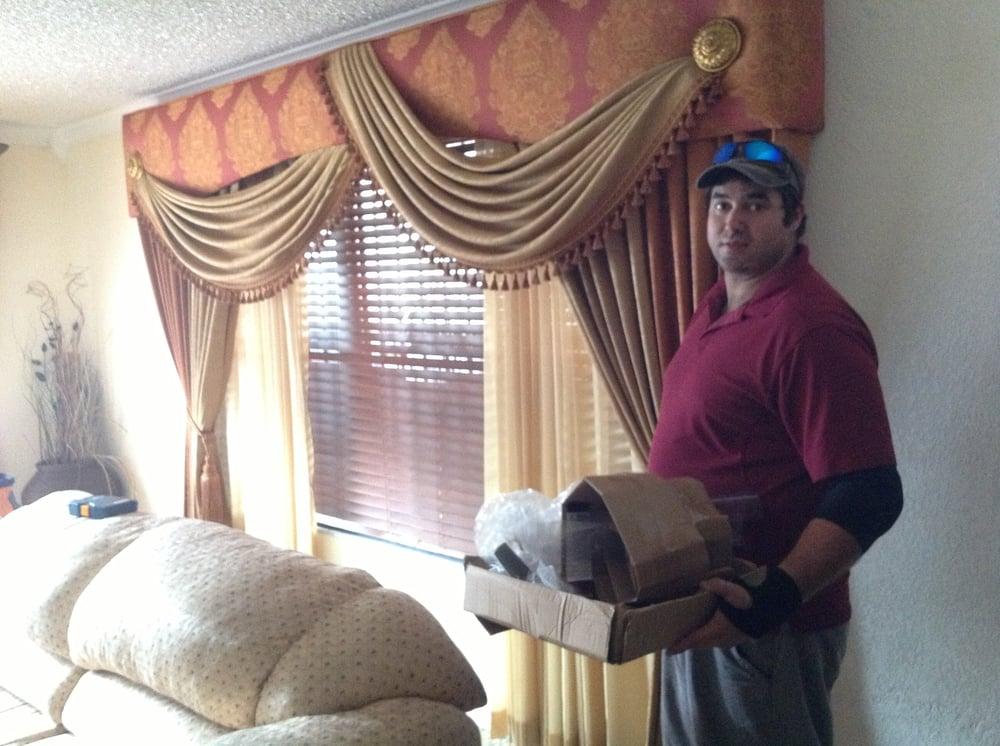 Joel Ortega And His High end Window Treatment Creation Yelp