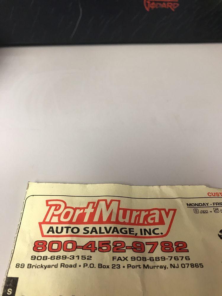 Port Murray Auto Salvage: Port Murray, NJ