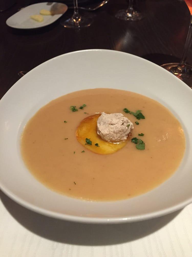 peach brûlée soup - Yelp