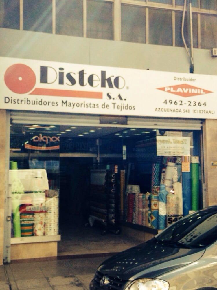 Disteko tiendas de telas azcuenaga 546 balvanera - Telas para tapiceria precios ...