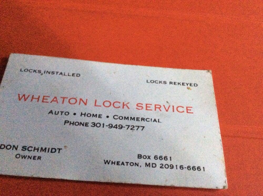 Wheaton Lock Service: Silver Spring, MD