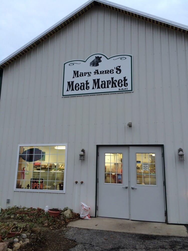 Mary Anne's Meats: 38 Church St W Rear, Lexington, OH
