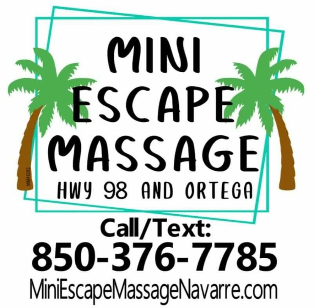 Mini Escape Massage: 1929 Ortega St, Navarre, FL