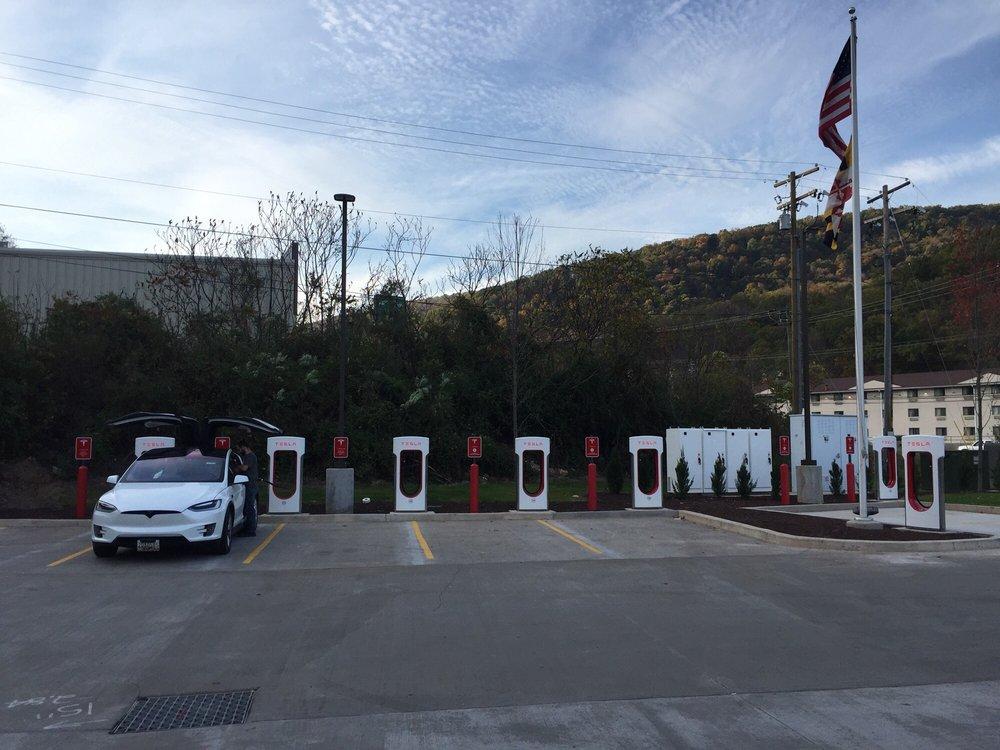 Tesla Supercharger - La Vale: 11601 Winchester Rd, La Vale, MD