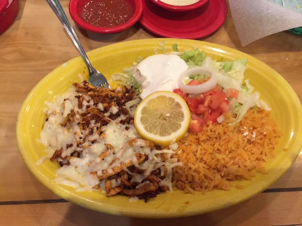 Food from Fiesta Mexicana Express