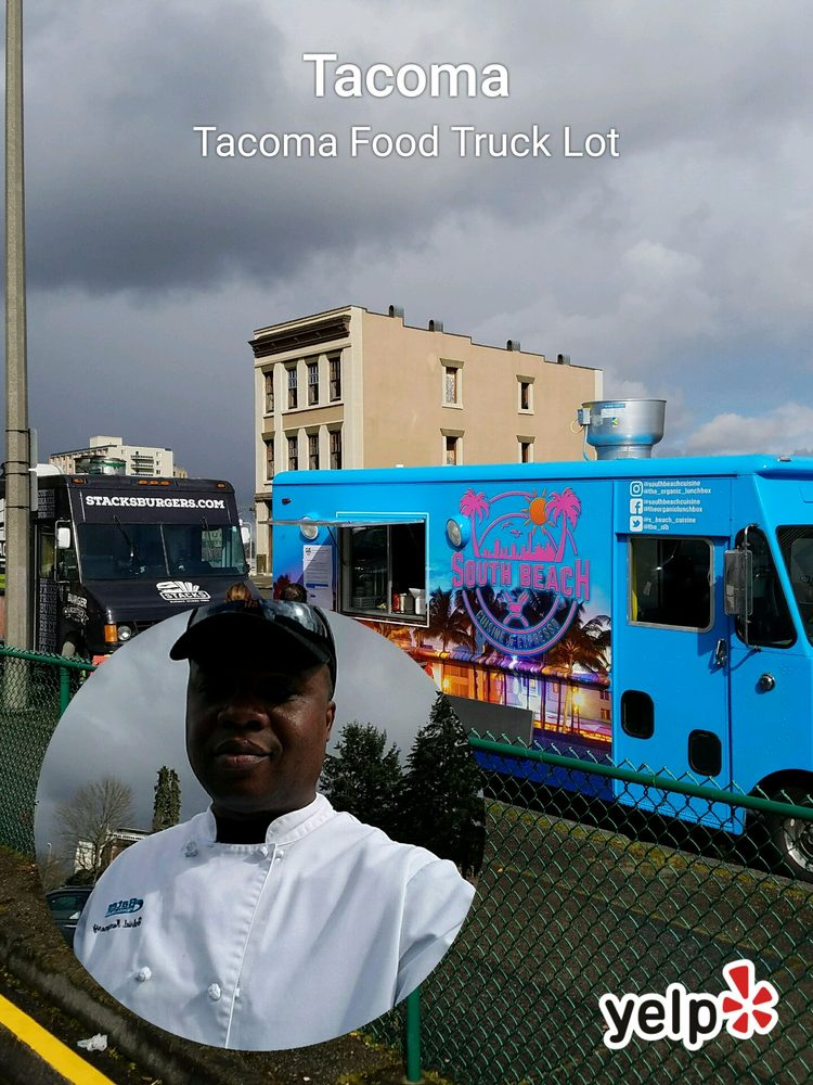 Food from Tacoma Food Truck Lot