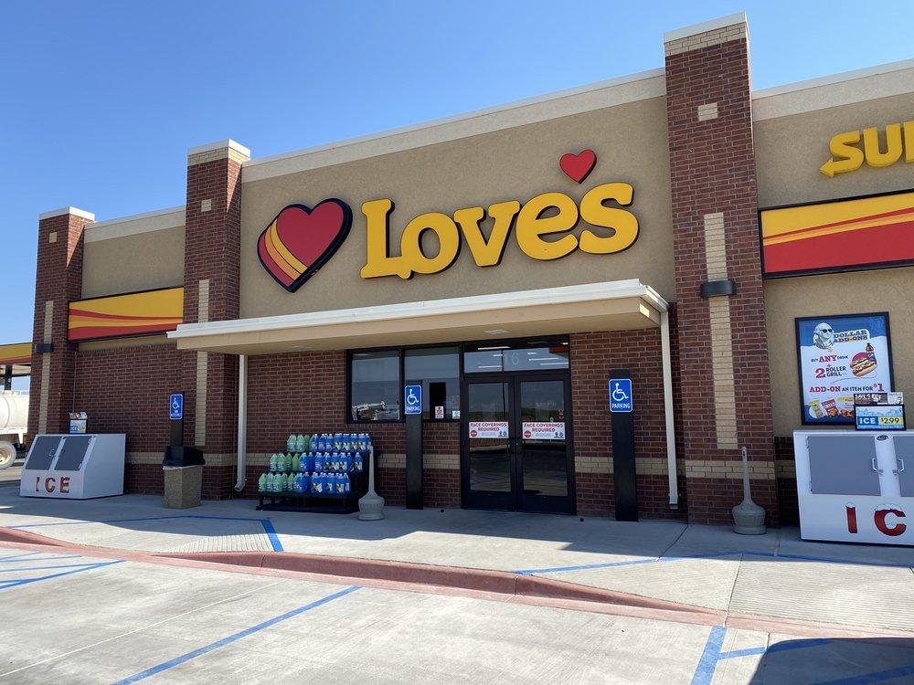 Love's Travel Stop: 16 Andrews Hwy, Eunice, NM