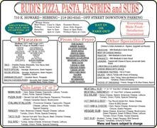 Rudi's Pizza: 710 E Howard St, Hibbing, MN