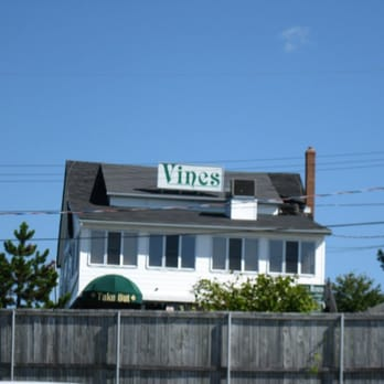 The Vines Restaurant Menu Dartmouth