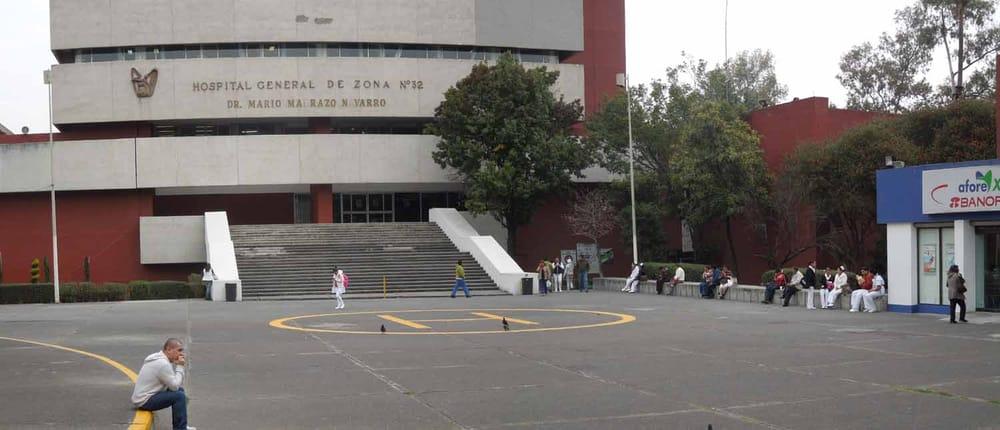 Hospital general de zona 32 imss hospitales calz del for Cajeros cerca de mi ubicacion
