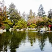 Photo Of Japanese Friendship Garden   San Jose, CA, United States. Red  Bridge