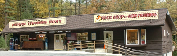 Parker's Indian Trading Post: 14171 Pennsylvania 36, Cooksburg, PA