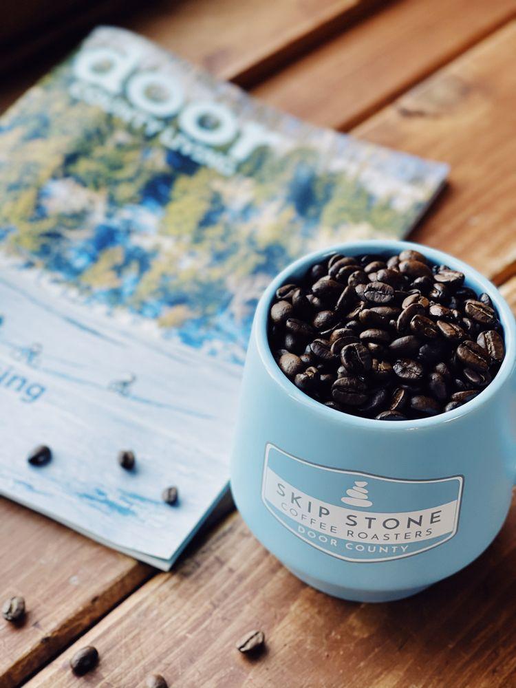 Skip Stone Coffee: 10678 S Bay Shore Dr, Sister Bay, WI