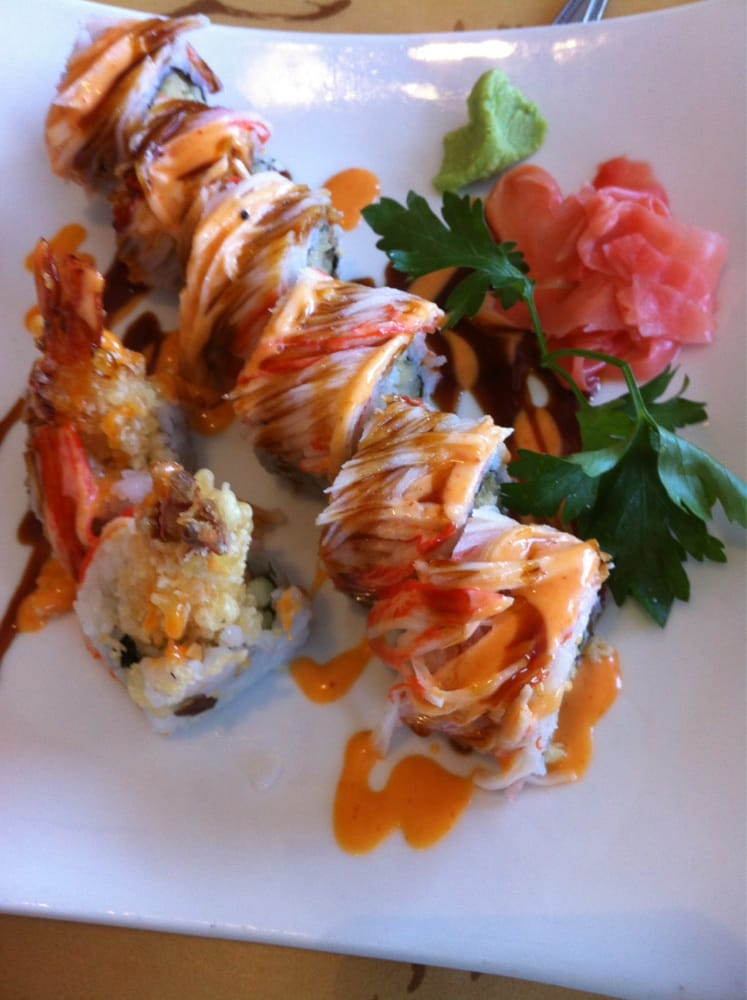 Spicy dragon roll yelp for Asian cuisine richmond hill ga