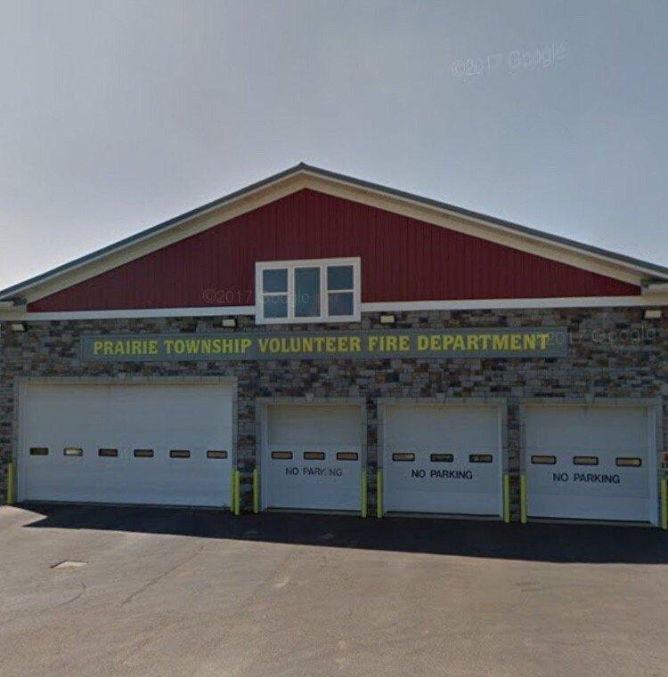 Prairie Twp Fire Dept-Holmesville: 118 E Jackson St, Holmesville, OH