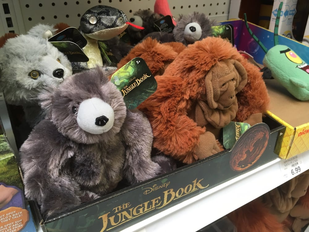3 28 16 Monday New Jungle Book Plush Toys For Upcoming Live Action