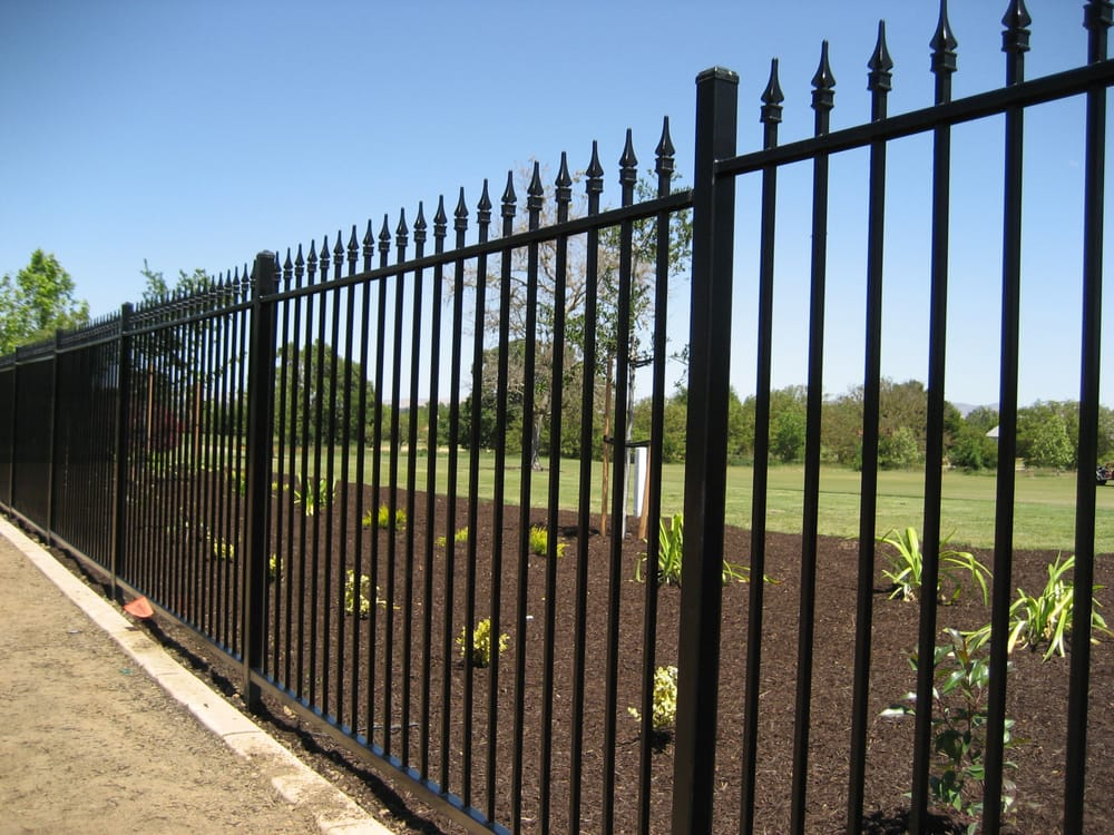 Custom Iron Fence With Spears Yelp