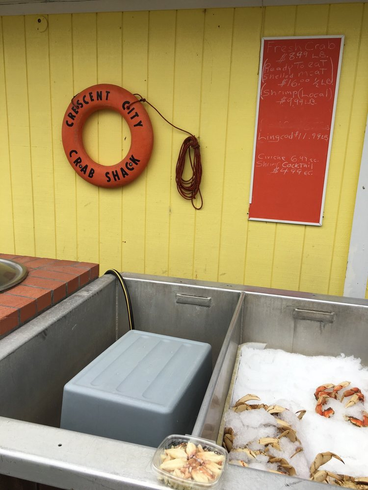 Crescent City Crab Shack: 160 Anchor Way, Crescent City, CA