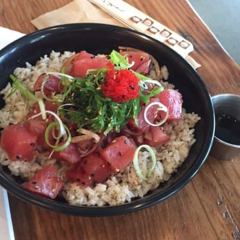 how to create your poke bowl