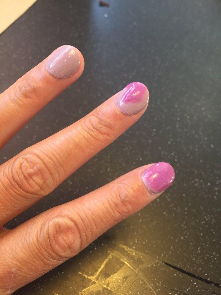 Photo of USA Nails - McDonough, GA, United States. SNS mood color changing