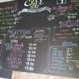 Cafe Express Baltimore Menu