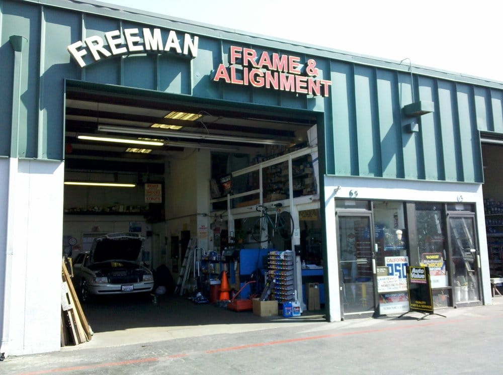 Freeman frame alignment 22 photos 19 reviews auto for United motors san jose