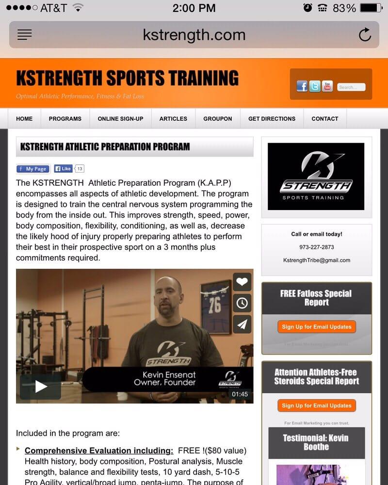 K-Strength Sports Training